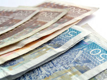 хорватские деньги Стоковая Фотография