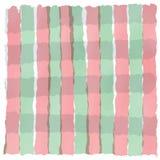 浅绿色的红色白色条纹柔和的淡色彩在情人节 库存图片