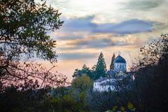 圣乔治修道院  库存图片