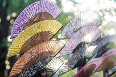 Традиционные вентиляторы Стоковое Фото