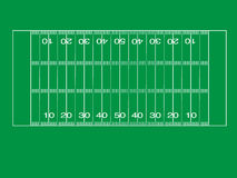 Иллюстрация футбольного поля Стоковое Изображение RF