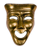 μάσκα κωμωδίας Στοκ Φωτογραφία
