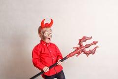 дьявол немногая Стоковое Изображение