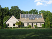 экологически чистая энергия Стоковая Фотография