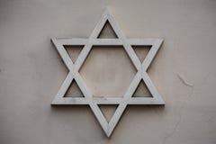 大卫王之星,犹太教的标志 免版税库存图片