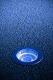 Утопленная лампа пола Стоковые Изображения RF