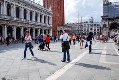οδός Βενετία Στοκ Φωτογραφία
