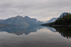 Εθνικό πάρκο παγετώνων, πηγαίνω--ο-ήλιος-δρόμος, Μοντάνα, ΗΠΑ Στοκ Εικόνες