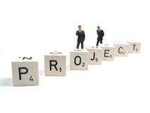 项目运行中 免版税图库摄影