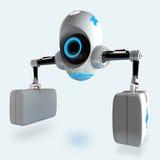 Футуристический медицинский робот Стоковое Изображение RF