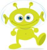 зеленый цвет чужеземца Стоковые Фотографии RF