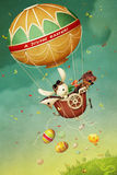 复活节气球 图库摄影