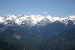 高内华达山脉 免版税库存照片