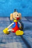 玩具狗细节 免版税库存图片