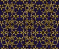 Κομψή παλαιά εικόνα υποβάθρου του στρογγυλού αστεριών σχεδίου λουλουδιών καμπυλών διαγώνιου Στοκ Φωτογραφία