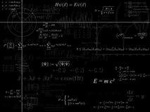 физика предпосылки Стоковая Фотография RF