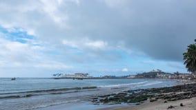 英属黄金海岸的防御 库存图片