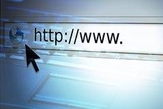 сеть браузера Стоковые Изображения RF