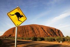 在内地澳洲 免版税图库摄影