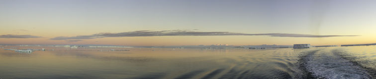 Τομέας των συνοπτικών παγόβουνων, Ανταρκτική Στοκ φωτογραφία με δικαίωμα ελεύθερης χρήσης