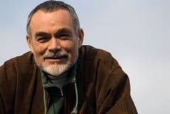 ηλικιωμένο άτομο σακακιών Στοκ εικόνες με δικαίωμα ελεύθερης χρήσης