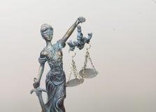 Повелительница Правосудие Стоковое Фото