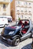 微型巧妙的敞蓬车汽车在摩纳哥,法国 库存图片