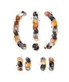 Пунктуация и специальные символы камешков Стоковые Изображения RF