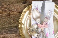 Обедающий дня валентинок Стоковые Фото