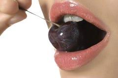 性感的嘴唇 免版税图库摄影