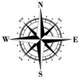лимб картушки компаса Стоковое фото RF