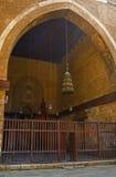 对清真寺的曲拱 免版税库存图片