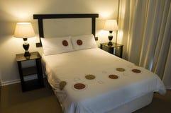 спальня Стоковое Фото