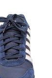 在白色背景隔绝的体育鞋子 免版税库存图片