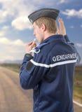 法国警察 免版税库存图片