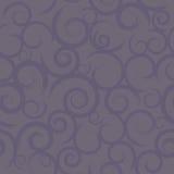 紫色无缝的漩涡 库存图片