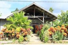 建筑的庭院 库存图片