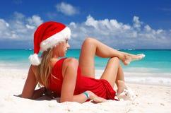 加勒比圣诞节 免版税图库摄影