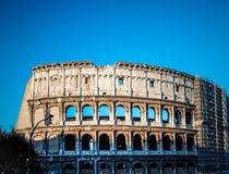 罗马斗兽场在罗马在罗马 免版税库存照片
