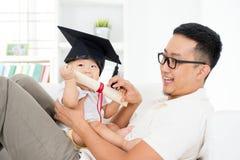 婴孩早期的教育概念 库存图片