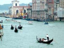 κανάλι μεγάλη Βενετία Στοκ Φωτογραφίες