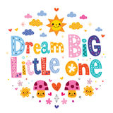 Мечт большое маленькое одно Стоковые Изображения