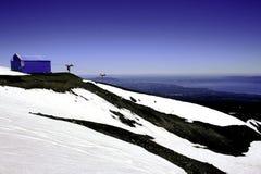 智利地区湖 免版税图库摄影
