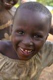 非洲孩子在卢旺达 免版税库存照片