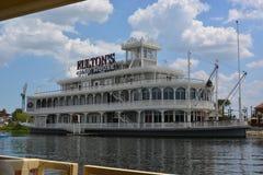 弗尔顿的螃蟹议院餐馆 免版税库存照片