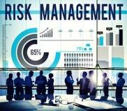 Концепция безопасности планирования возможности управление при допущениеи риска Стоковые Изображения RF