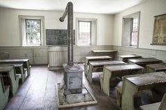 Комната школы в музее фермеров Стоковые Изображения