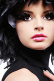 μαύρα φτερά Στοκ εικόνα με δικαίωμα ελεύθερης χρήσης