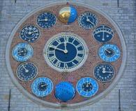 著名地标比利时:齐默尔塔 免版税库存照片