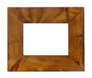 空的老木框架 图库摄影